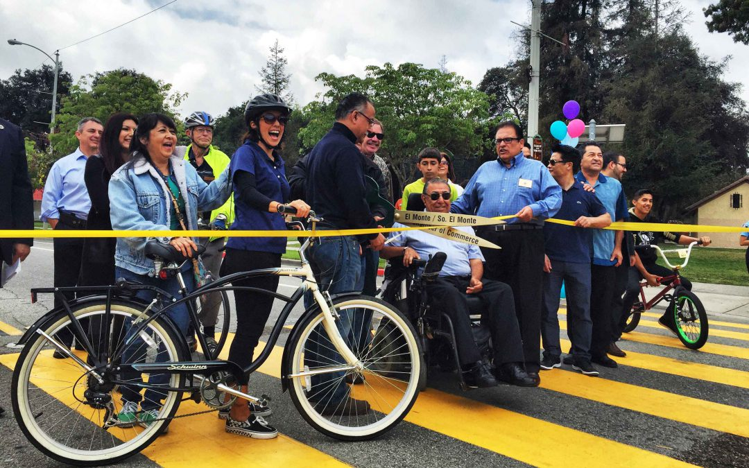 First Bicycle Lane and Ribbon-Cutting CeremonyCity of El Monte, CA