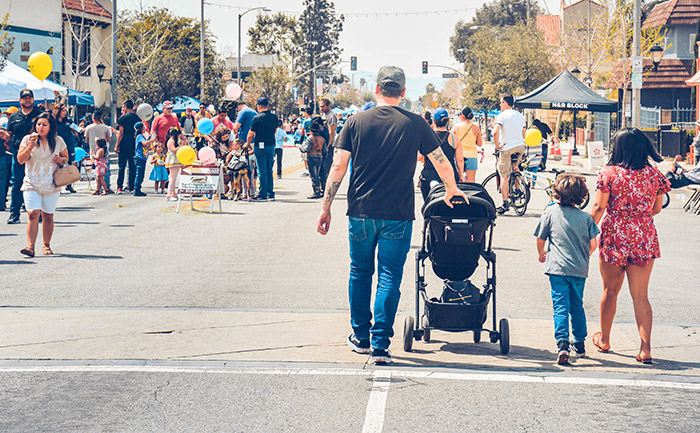 San Fernando Street Festival website 3