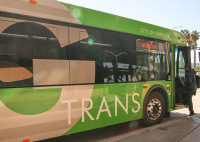 National Transit Database (NTD) Passenger Mile StudyCity of Gardena, CA